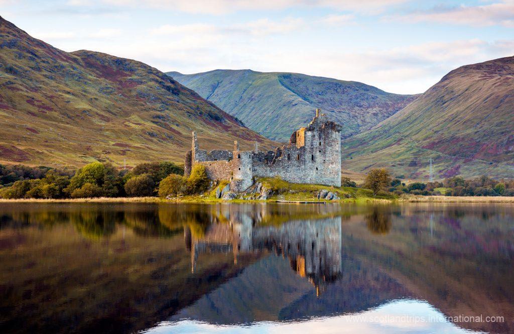 Castillo Kilchurn Escocia Tours Scotlandtrips