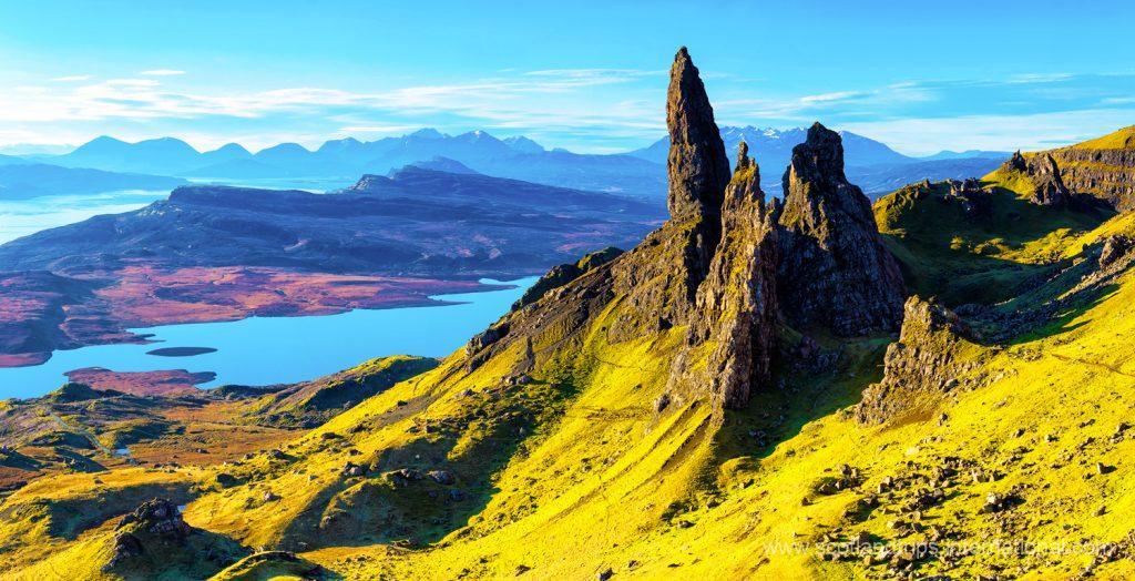 Old Man of Stor Escocia Tours Scotland Scotlandtrips
