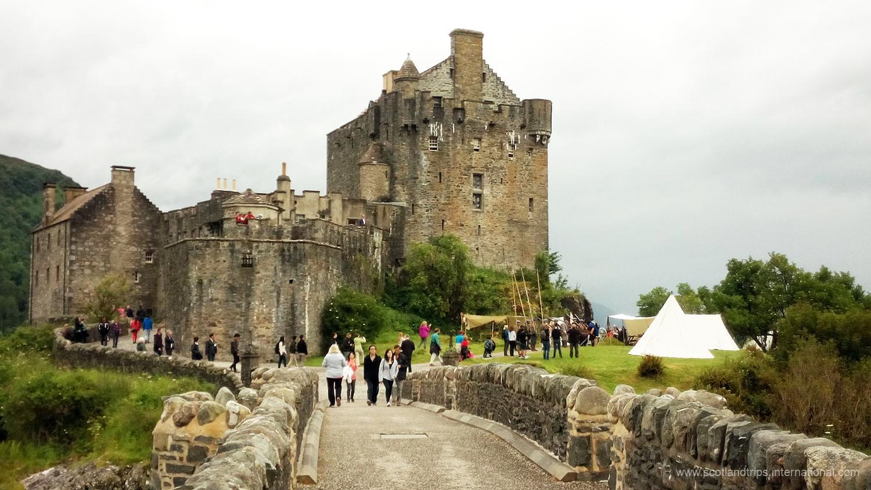 Eilean Donan Castle Castillo Tours Escocia Scotlandtrips