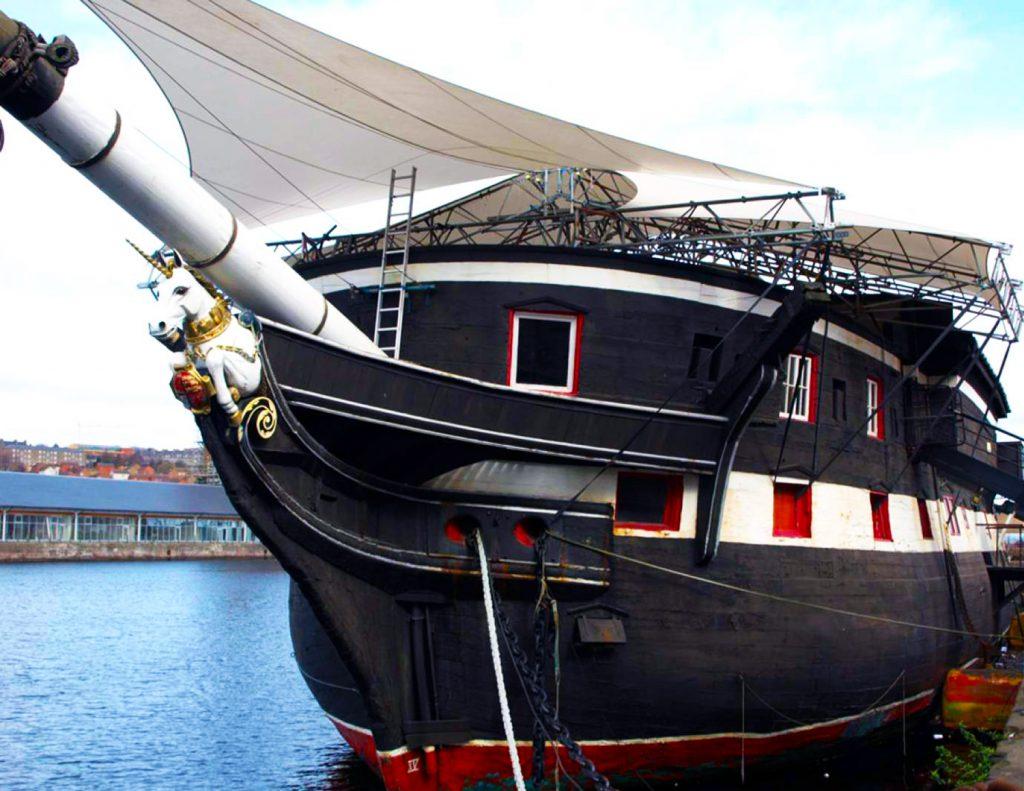 Frigate Unicorn fragata tours escocia scotlandtrips