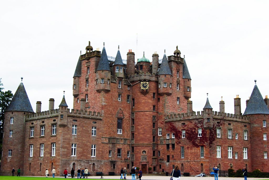 Glamis Castle Tours Escocia Scotlandtrips