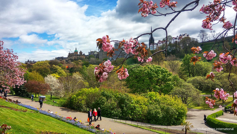 Jardines Princes Street Edimburgo Tours Escocia Scotlandtrips