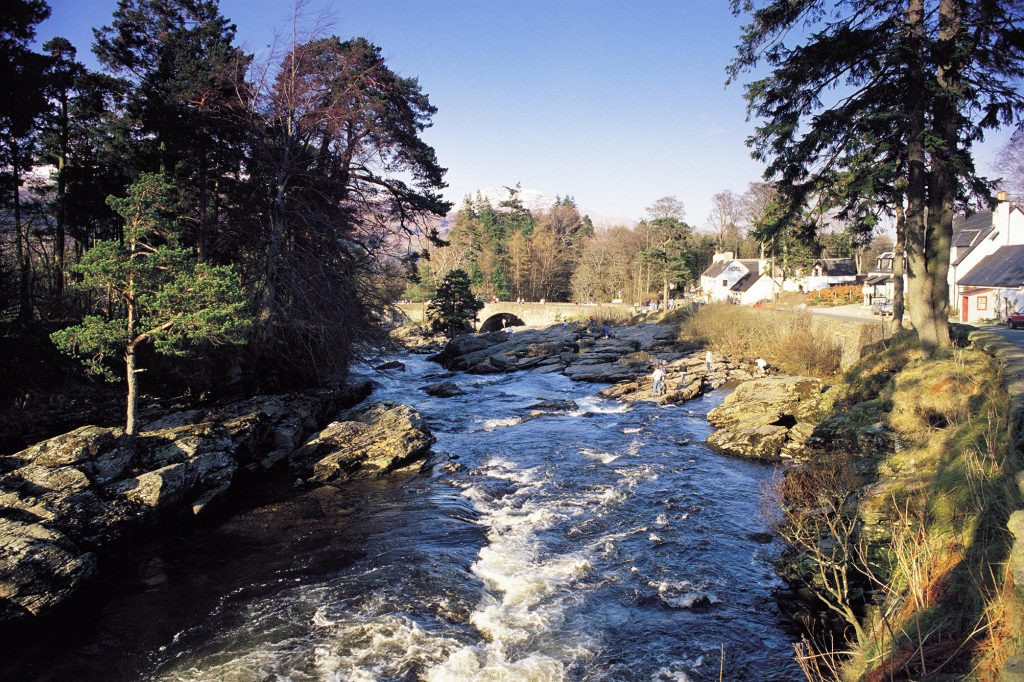 THE FALLS OF DOCHART, KILLIN.