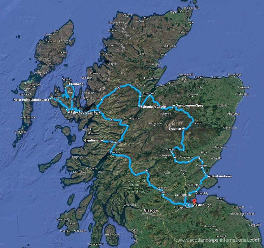 MAP-Tour-The-Beauties-of-Scotland-Skye