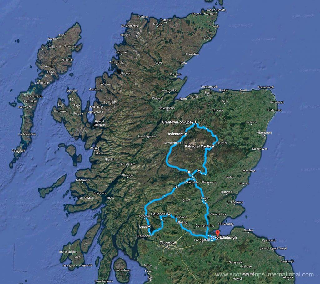 MAP-Tour-The-Scottish-National-Parks-Practicing-Sports