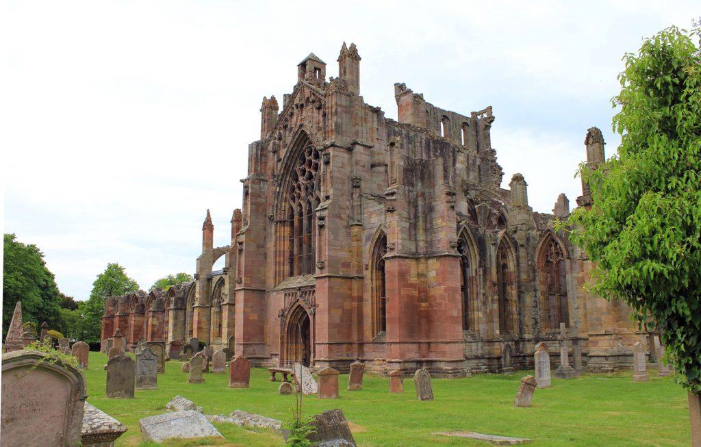 Melrose abbey abadia tour escocia scotlandtrips