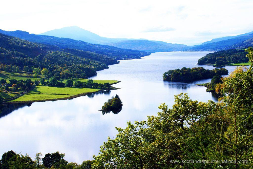 Queens View Loch Tummel Tours Escocia Scotlandtrips