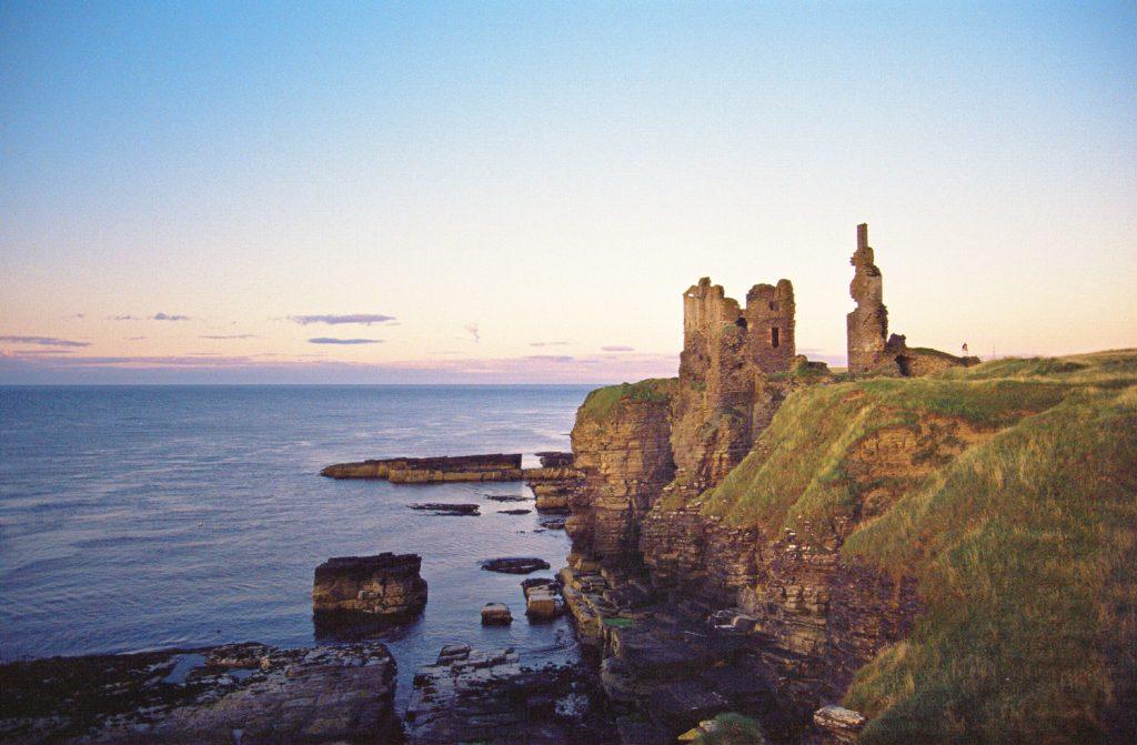 Sinclair castle castillo tours escocia scotlandtrips