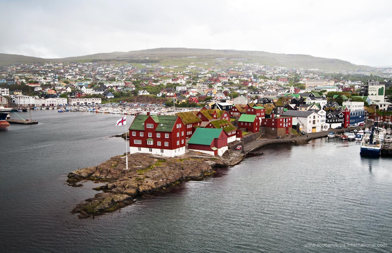 Tinganes torshavn feroe islas faroe tours scotlandtrips
