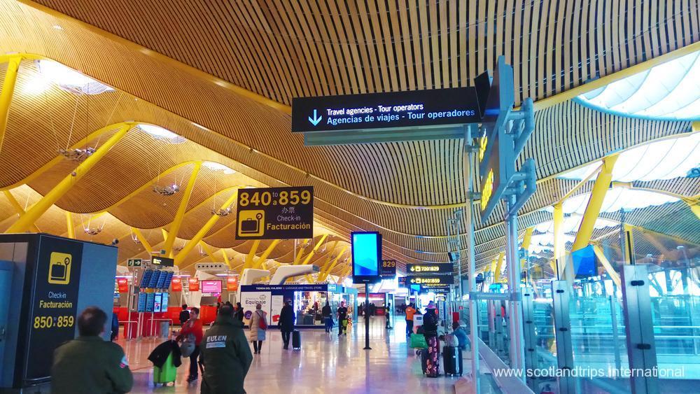 Vuelos a Escocia - Vuelos a España - Flights to Spain - Flights to Scotland - International