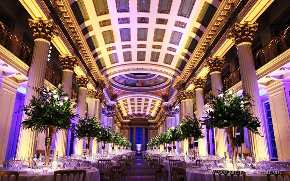 Alquiler de salas para banquetes en Escocia - Venues in ScotlandTrips International