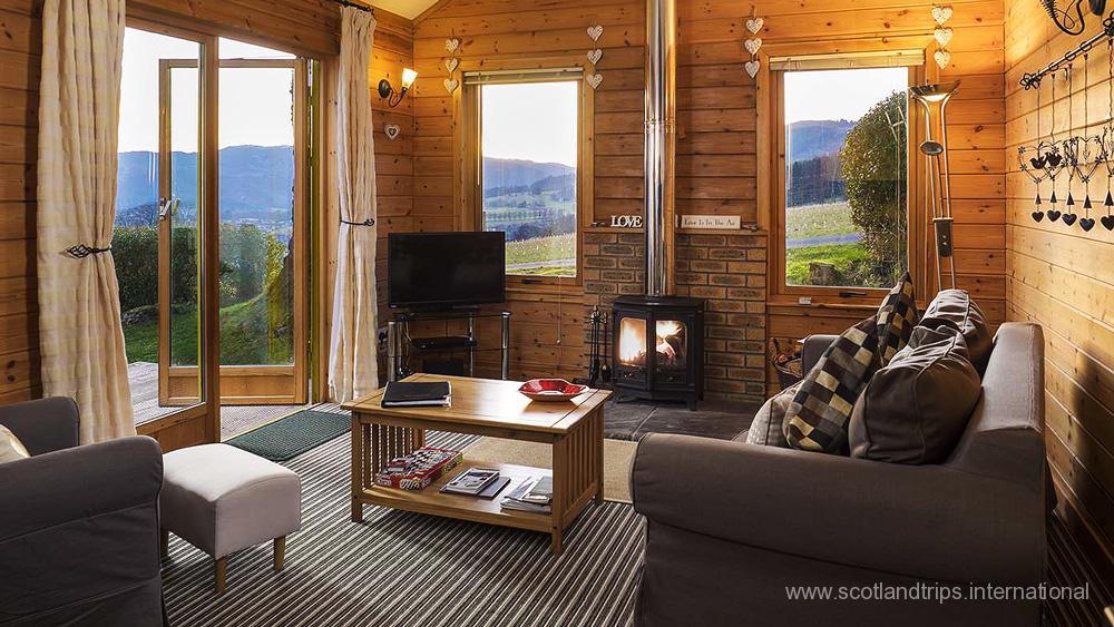 Lodges y Cabañas de vacaciones - Holiday accommodations - ScotlandTrips International