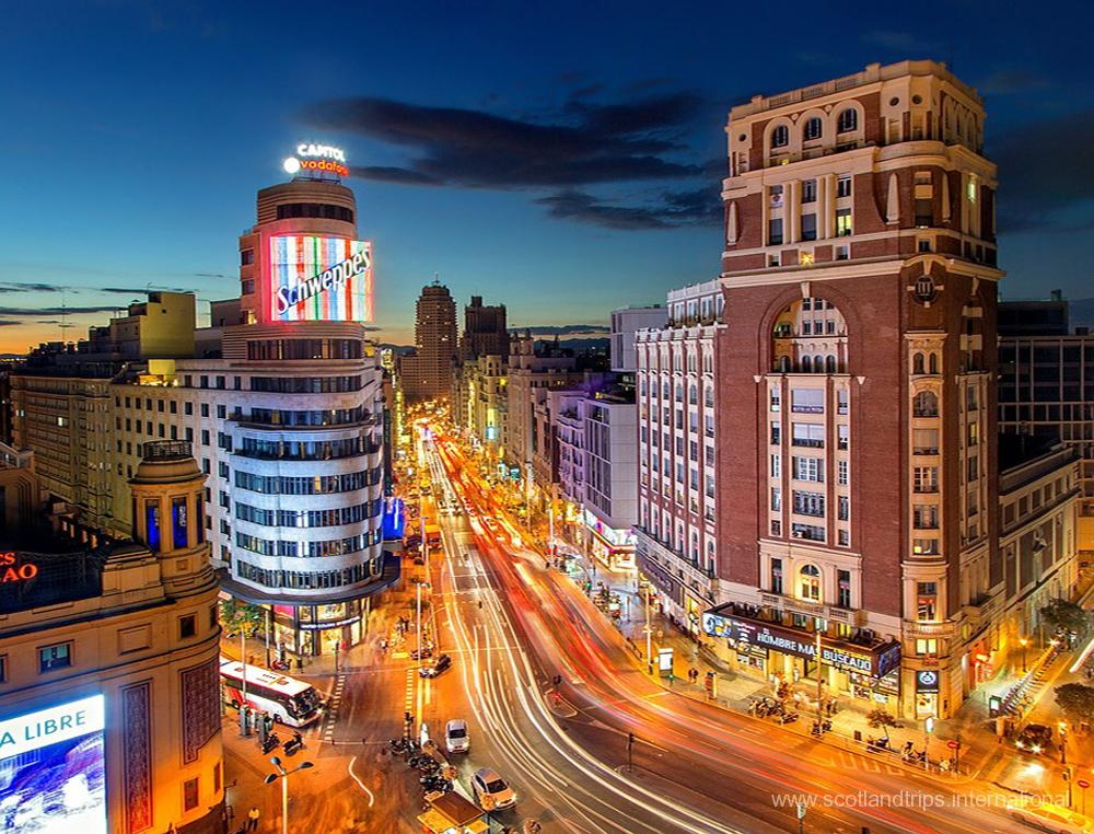 Visita a Madrid Tours - Tours por Madrid España - ScotlandTrips International