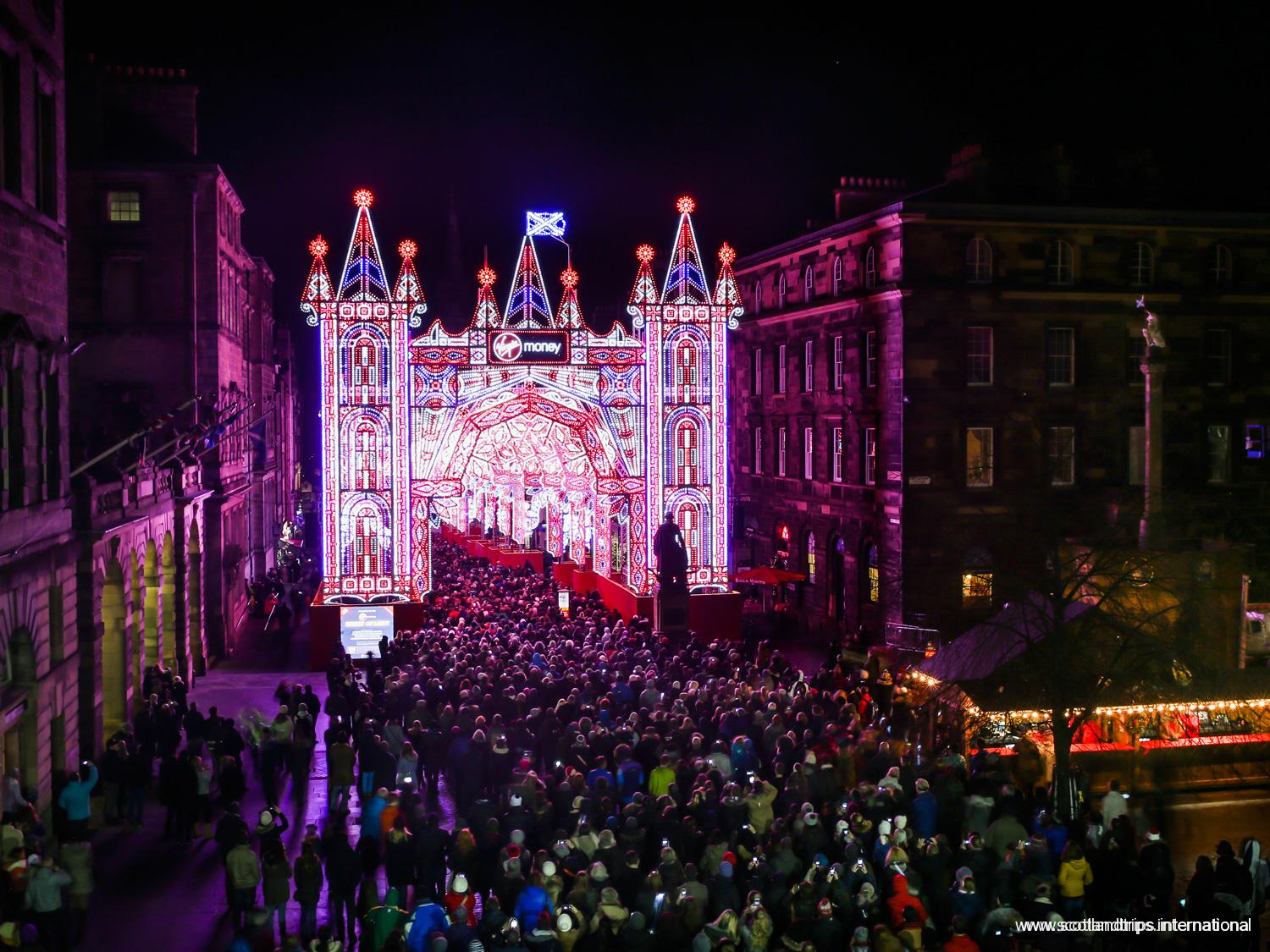 Navidades en Edimburgo - Royal Mile