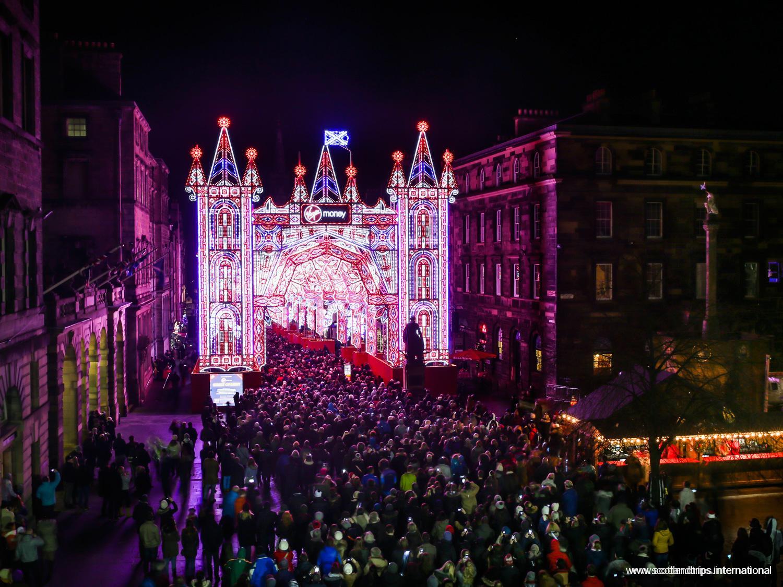 Navidades en Edimburgo - Royal Mile