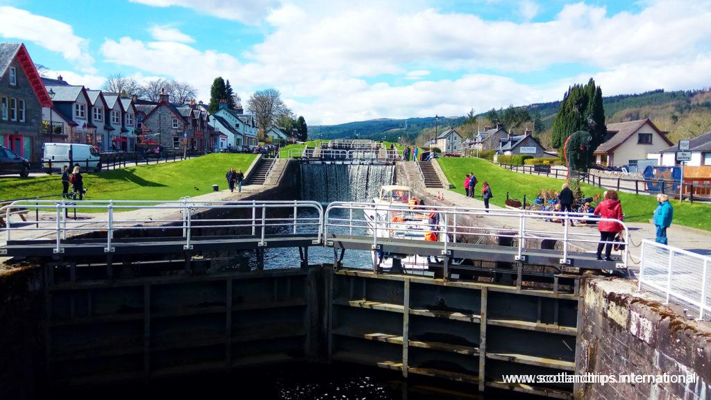 Lago Ness - Loch Ness - Nessie - Canal de Caledonian - Caledonian Canal - ScotlandTrips