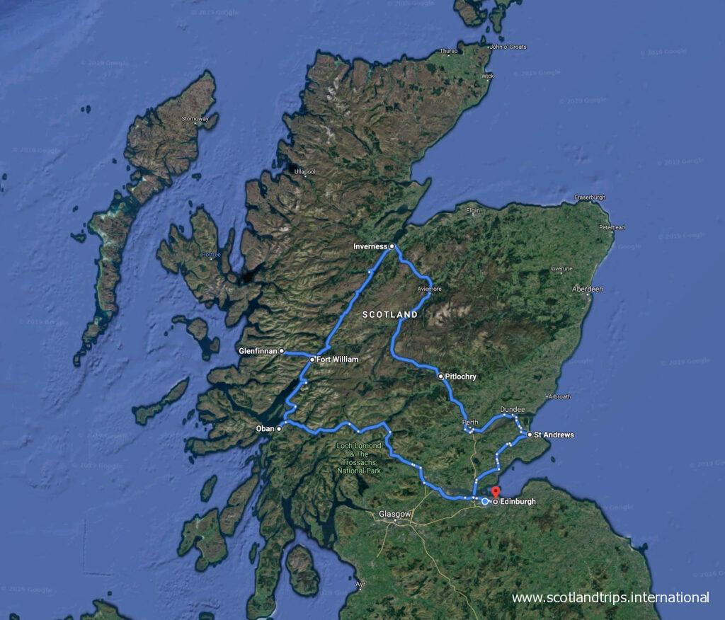 Tour Las Maravillas de Escocia durante todo el año