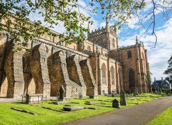 Dunfermline abbey abadia tour escocia scotlandtrips
