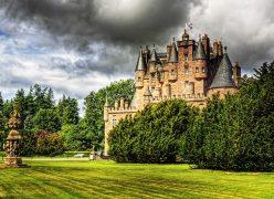 Glamis castle jardines tours escocia scotlandtrips