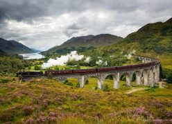 Glenfinnan Viaduct Harry Potter Train Tren Tours Escocia Scotland Scotlandtrips