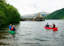 Scottish crannog centre lago tay tours escocia scotland scotlandtrips
